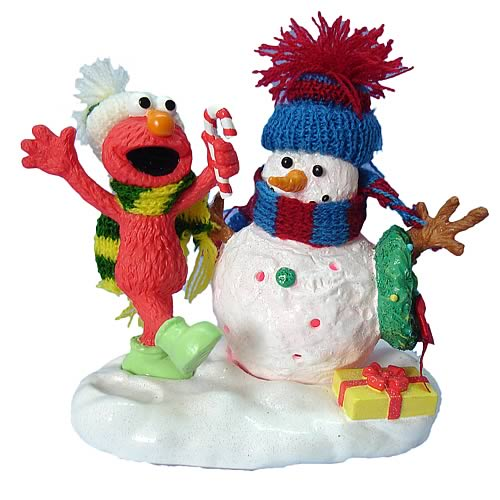 Sesame Street Elmo 4-Inch Statue with Lights