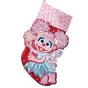 Sesame Street Abby Cadabby Printed Applique Stocking