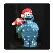 Sesame Street 28-Inch Cookie Monster with Hat Display