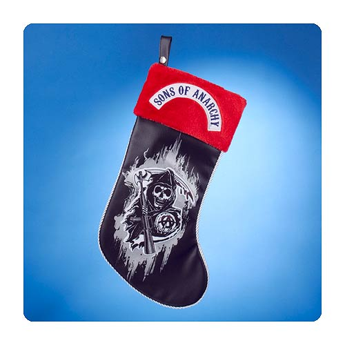 Sons of Anarchy Grim Reaper Red Cuff Christmas Stocking