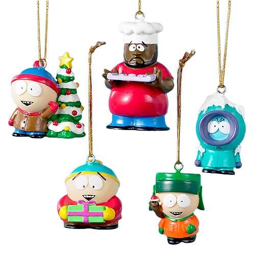South Park Mini Resin Ornaments Boxed Set