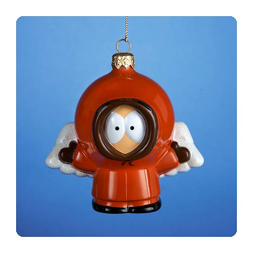 South Park Angel Kenny 4 1/2-Inch Glass Ornament