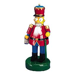 Simpsons Homer Simpson 12-Inch Wooden Nutcracker