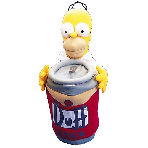 Simpsons Homer Simpson Plush Stocking