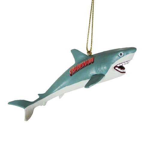 Sharknado Blow Mold 4 1/4-Inch Figural Ornament