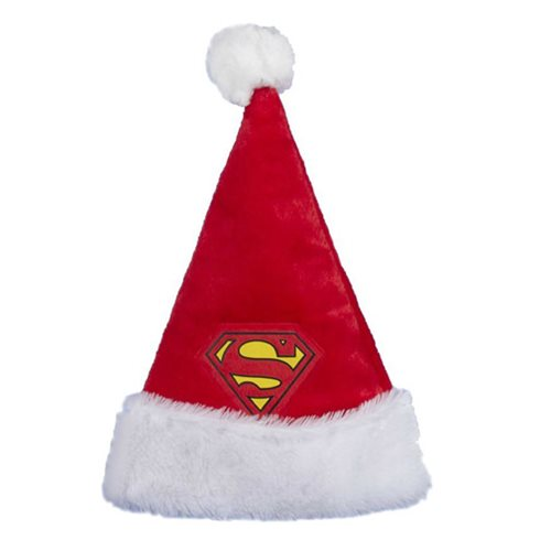 Superman Logo Santa Hat