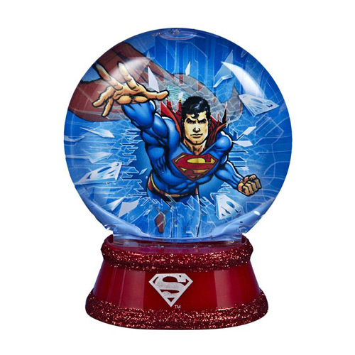 Superman Light-Up 3 1/2-Inch Water Globe