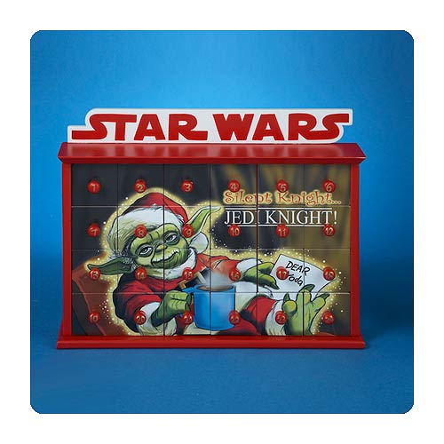Star Wars Santa Yoda Jedi 12-Inch Advent Calendar