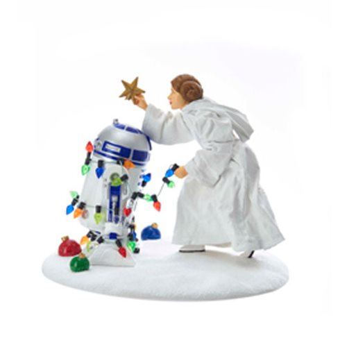 Star Wars Princess Leia and R2-D2 5 1/2-Inch Statue
