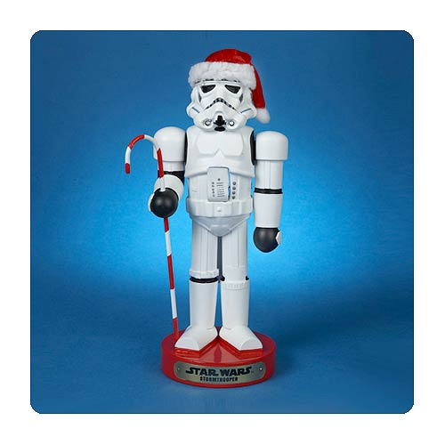 Star Wars Stormtrooper with Candy Cane Nutcracker