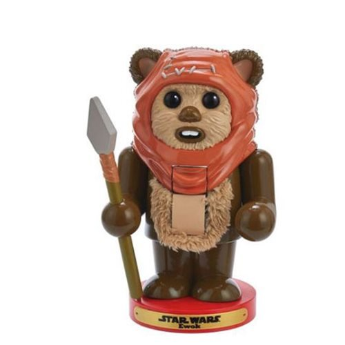 Star Wars Ewok 7 1/2-Inch Nutcracker