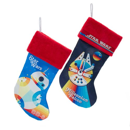 Star Wars 19-Inch Retro Stocking 2-Pack Set