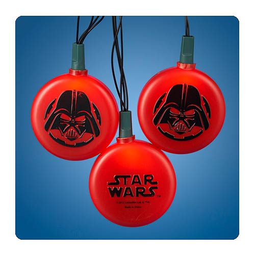 Star Wars Darth Vader Red Christmas Lights with Sound