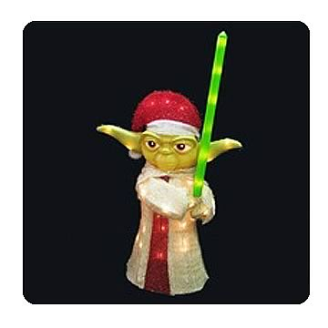 Star Wars Clone Wars Yoda 18-Inch Light-Up Display