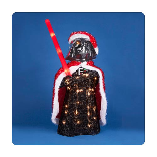 Star Wars Darth Vader 28-Inch Light-Up Tinsel Display