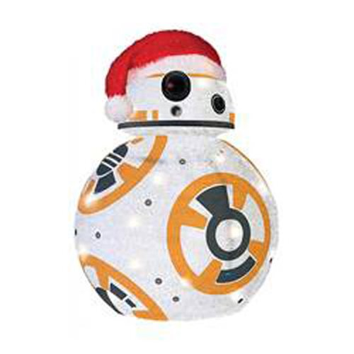 Star Wars: TFA BB-8 28-Inch Light-Up Tinsel Display