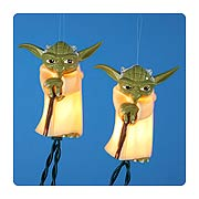 Star Wars Plastic Yoda Full Figure Light Set