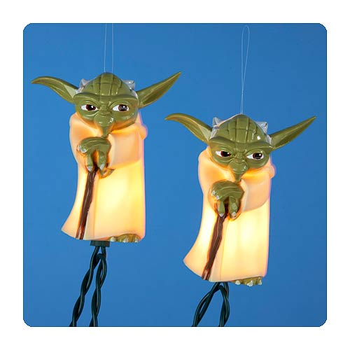 Star Wars Plastic Yoda Full Figure Light Set - Kurt S. Adler ...
