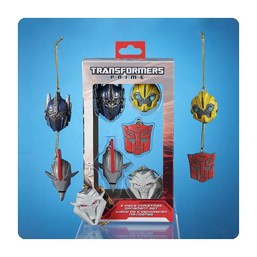 Transformers Prime Christmas Ornament 5-Pack