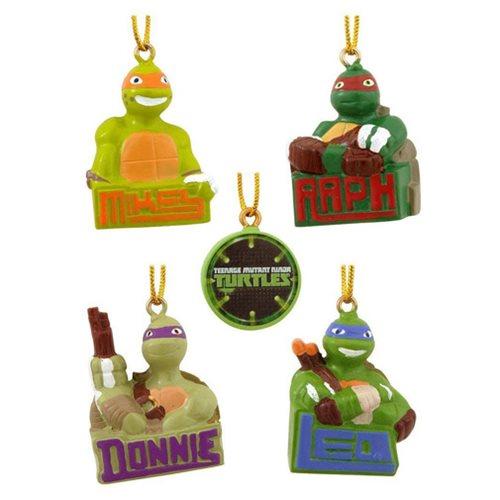 Teenage Mutant Ninja Turtles Mini Christmas Ornament 5-Pack