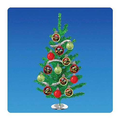 Teenage Mutant Ninja Turtles Nick Tinsel Christmas Tree