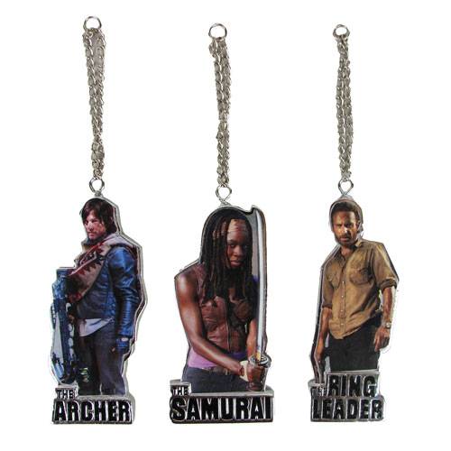 The Walking Dead Flat Back Resin Ornament Set