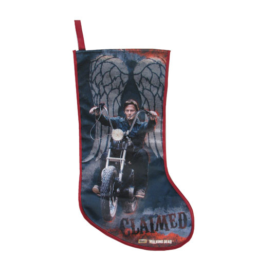The Walking Dead Daryl Dixon Motorcycle Christmas Stocking