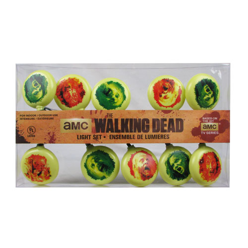 The Walking Dead Walkers Christmas Lights
