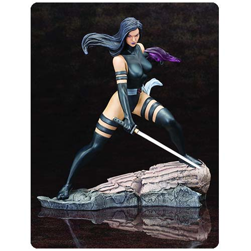 X-Force Psylocke Fine Art Statue