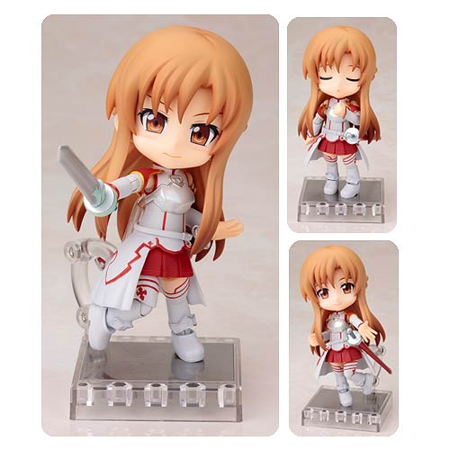Sword Art Online Asuna Aincrad Cu-Poche Action Figure