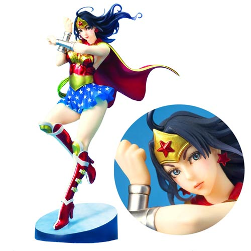 Wonder Woman Armored Version Bishoujo Statue