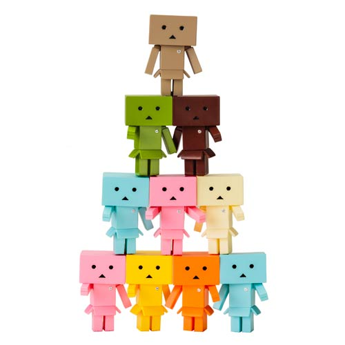 Yotsuba Danboard-Nano Flavors Mini-Figure Display Box