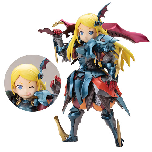 Etrian Odyssey Legends of the Titan Imperial Girl Model Kit