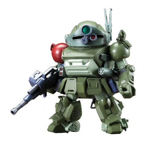 Armored Trooper Votoms Scopedog Turbo D-Style Model Kit