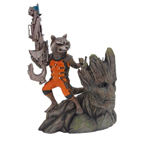 Guardians of the Galaxy Rocket Raccoon 1:10 ArtFX Statue