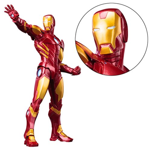 Avengers Now Iron Man Red Variant ArtFX+ Statue
