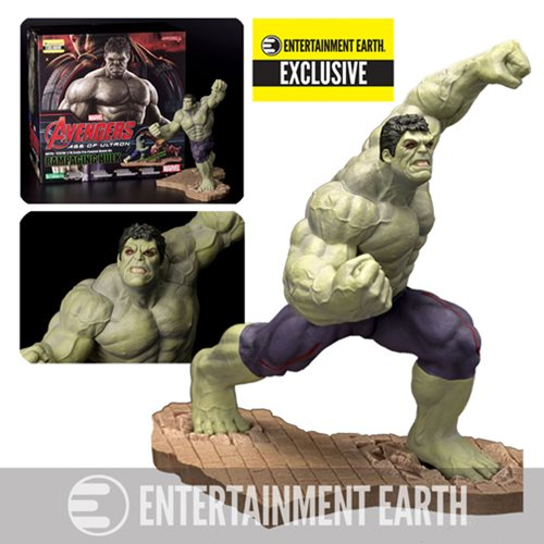Avengers: Age of Ultron Rampaging Hulk ArtFX Statue - EE Ex.