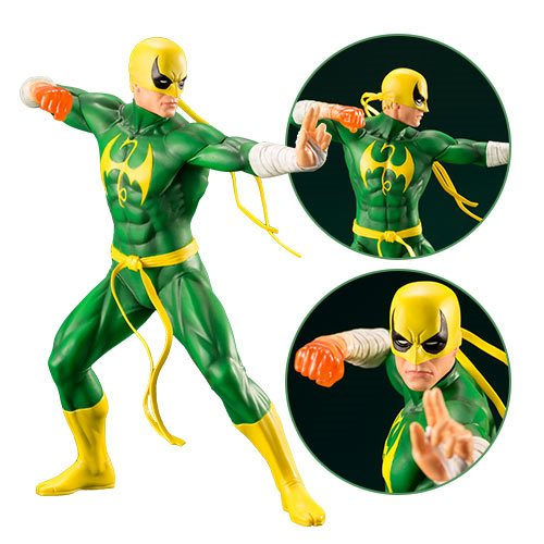 Картинки по запросу Marvel ArtFX+ Statues - The Defenders TV Series - 1/10 Scale Iron Fist