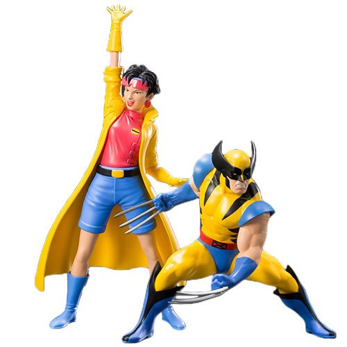 Marvel Universe Wolverine and Jubilee 2-Pack ArtFX+ Statue