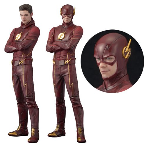 The Flash TV Series Flash ArtFX+ Statue