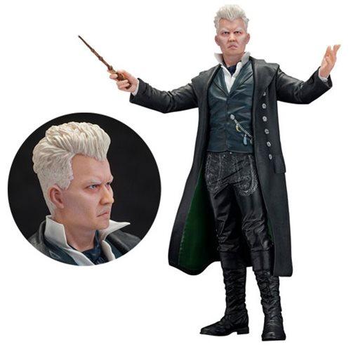 Fantastic Beasts: The Crimes of Grindelwald Gellert Grindelwald 1:10 Scale ARTFX+ Statue