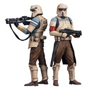 Star Wars Rogue One Scarif Stormtrooper Artfx+ Statue 2-Pack