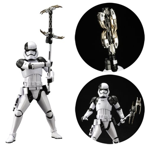 Star Wars TLJ First Order Stormtrooper Executioner Statue