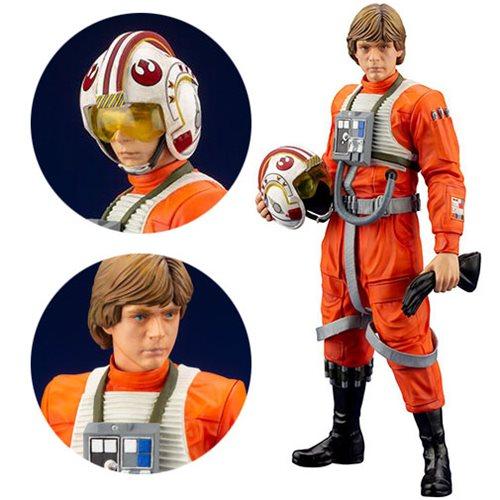 Star Wars Luke Skywalker X-Wing Pilot ARTFX+ Statue