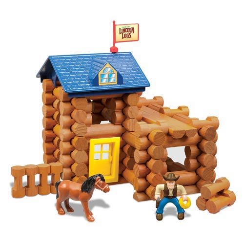 Lincoln Logs Horseshoe Hill Station Building Set
