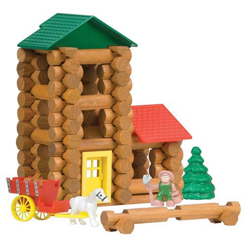 Lincoln Logs Shady Pine Homestead Building Set Knex