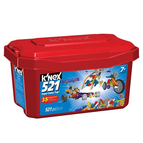 K'NEX 521-Piece Super Value Construction Toy Tub