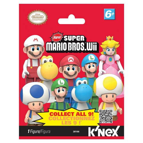 K'NEX Nintendo Super Mario Bros. Wave 1 Mystery Bag 4-Pack