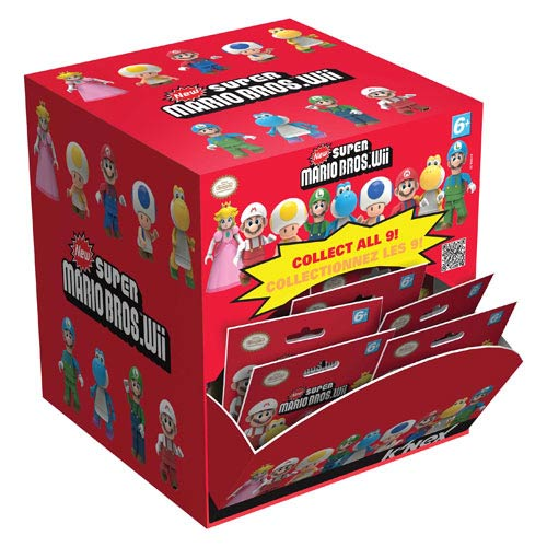 K'NEX Nintendo Super Mario Bros. Wave 1 Mystery Bag Case