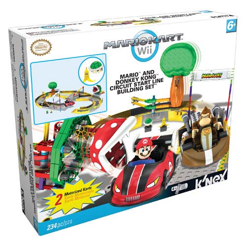 Mario Kart Mario and Donkey Kong Circuit Start Line Playset